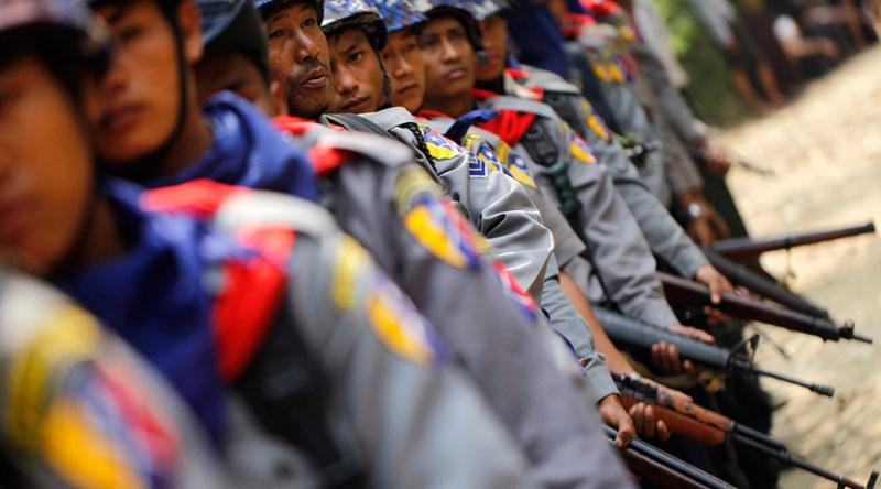 Myanmar: Phiến quân đánh đồn cảnh sát, 12 người chết - ảnh 1