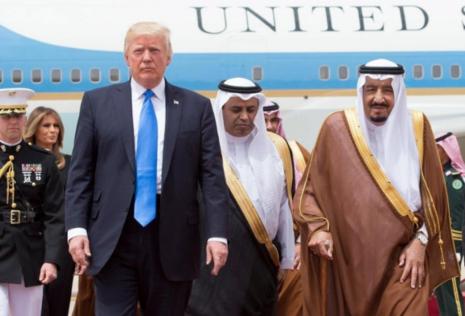 Lần đầu công du, ông Trump mang 350 tỷ USD về cho Mỹ - ảnh 1