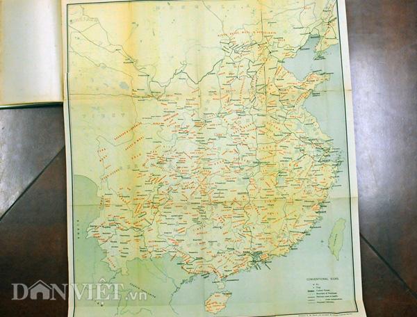 Bản đồ cổ khẳng định Trung Quốc không có Hoàng Sa, Trường Sa