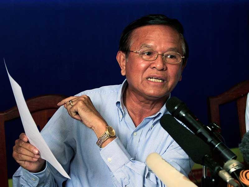 Đảng đối lập Campuchia trước sức ép giải tán - ảnh 1