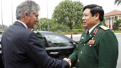 Việt - Úc tăng cường hợp tác hải quân