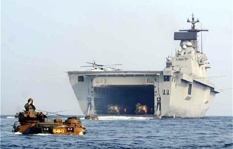 Sức mạnh hải quân đáng gờm của Hàn Quốc