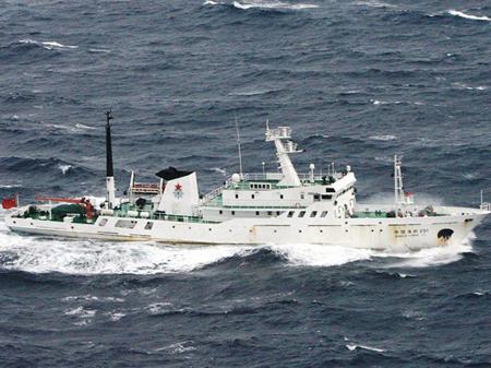 Tàu chiến Trung Quốc lại khuấy động Hoa Đông