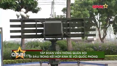 radar canh gioi do tap doan vien thong quan doi viettel che tao. anh: truyen hinh quoc phong viet nam.