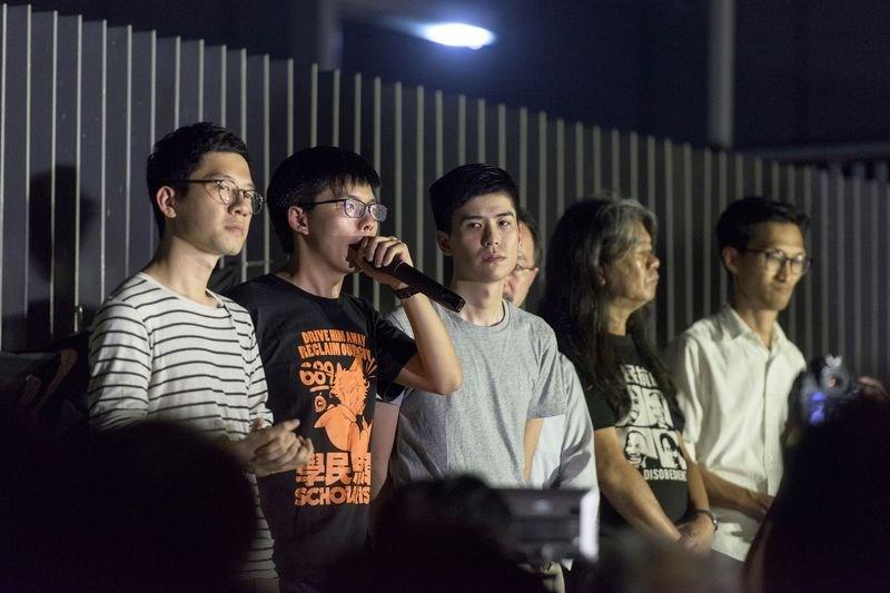 Thủ lĩnh biểu tình sinh viên ở Hong Kong lãnh án tù - ảnh 1