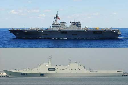 Hải quân Nhật Bản chiếm ưu thế trước Hải quân Trung Quốc