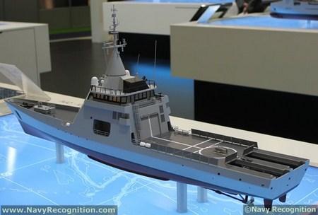 DNCS giới thiệu khinh hạm FREMM biến thể xuất khẩu