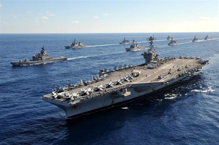 Cuộc khẩu chiến về vai trò toàn cầu của hải quân Mỹ
