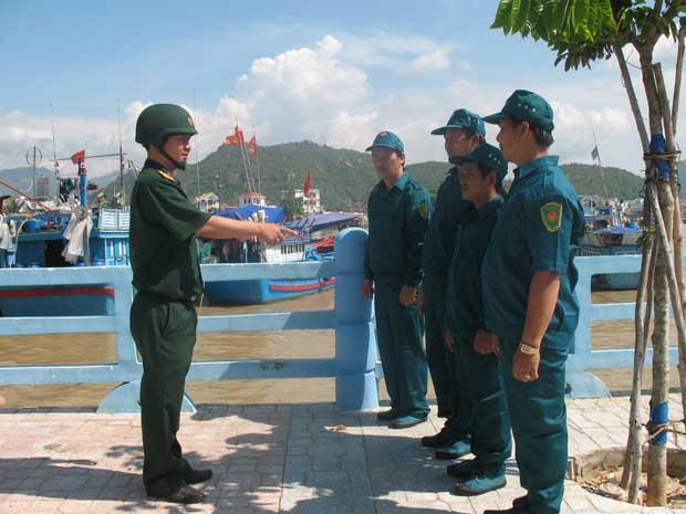 Thành lập hai trung đội dân quân biển