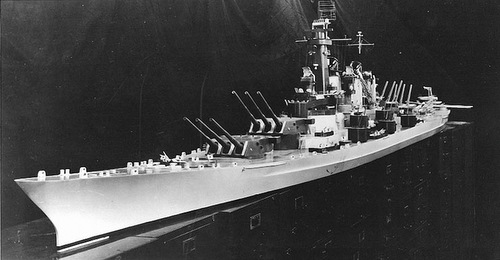 Thiết giáp hạm 'quái vật biển' suýt được hải quân Mỹ chế tạo