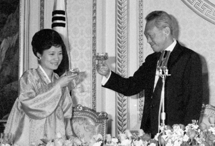 park geun-hye thay the vai tro cua de nhat phu nhan qua co nam 1979.