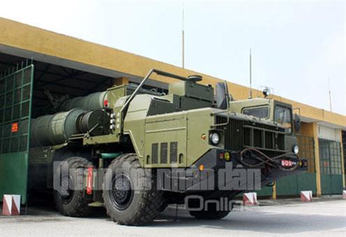 Tên lửa hiện đại nhất Việt Nam tập chiến đấu