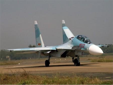Su-30MK2 đang là chiến đấu cơ tiên tiến nhất của Không quân Việt Nam.