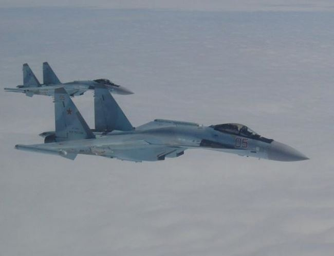 may bay chien dau su-35 nga. anh: cankao.