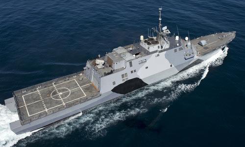Mẫu khinh hạm thay thế tàu chiến đấu ven biển gây thất vọng của Mỹ
