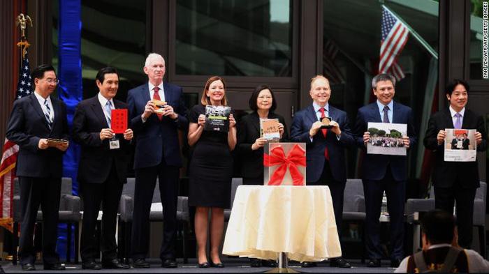Mỹ mở đại diện ngoại giao tại Đài Loan khiến Trung Quốc tức tối
