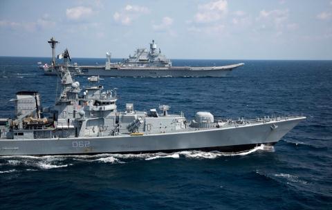 Ấn Độ khiến cả biên đội tàu Trung Quốc quay đầu