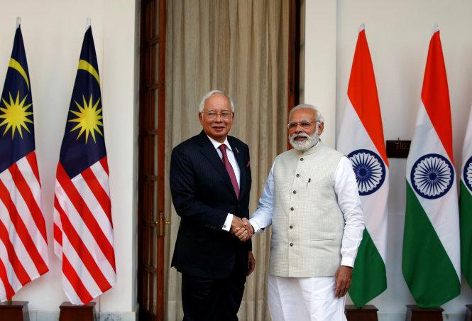 Malaysia-Ấn Độ đồng lên tiếng về Biển Đông