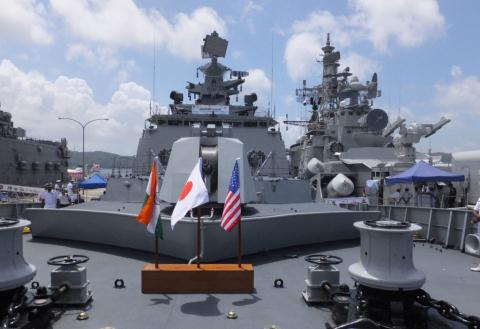 Ấn Độ tập hợp lực lượng chặn Trung Quốc