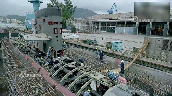 Ảnh hiếm quá trình Trung Quốc 'sao chép' tàu ngầm Kilo của Nga