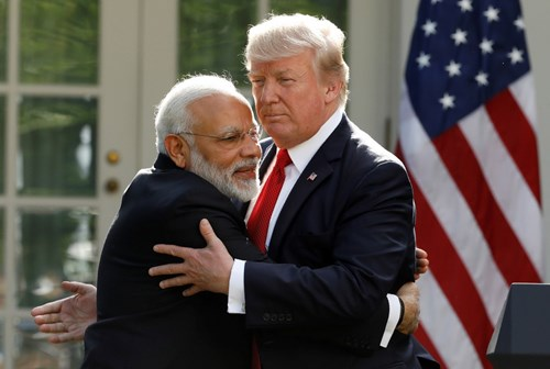 thu tuong an do narendra modi va tong thong my donald trump (anh: reuters)