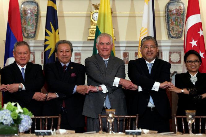 Ngoại trưởng Mỹ Rex Tillerson: ASEAN là đối tác quan trọng của Mỹ