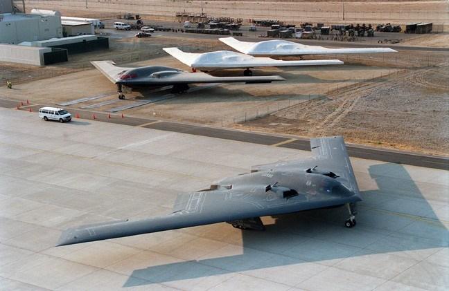 Máy bay ném bom B-21 Raider của Mỹ. Ảnh: AUTO EVOLUTION