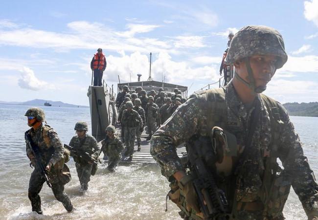 Philippines chọn địa điểm tập trận để làm vừa lòng cả Mỹ và Trung Quốc
