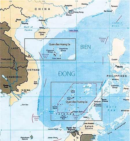"""Giữ lại tên biển """"Nam Trung Hoa"""" là không hợp lý"""