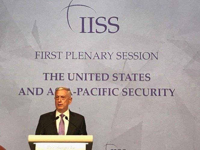 Bộ trưởng Quốc phòng Mỹ: Không đổi Biển Đông lấy Triều Tiên