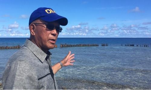 Bộ trưởng Quốc phòng Philippines thăm phi pháp đảo Thị Tứ