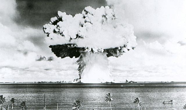 lan thu bom hat nhan cua my tai bikini atom nam 1946 - anh: reuters