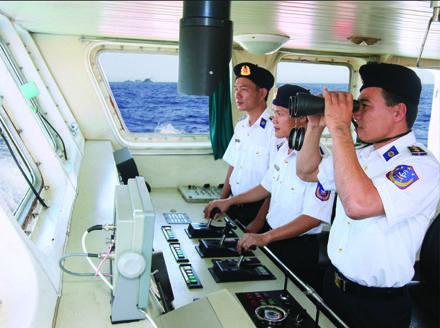 Xây dựng Cảnh sát biển Việt Nam ngày càng vững mạnh