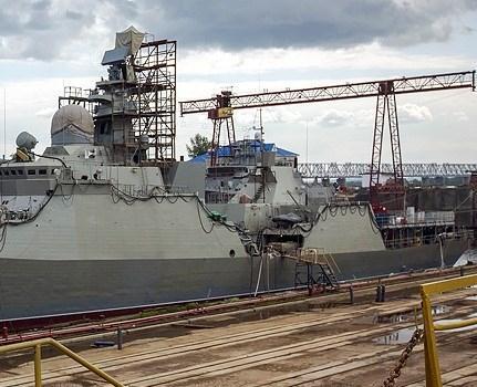 Cặp chiến hạm Gepard Việt Nam cùng về nước năm 2017