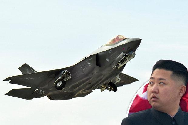 Mỹ đưa 12 chiến đấu cơ tối tân nhất tới kiềm chế Triều Tiên, Trung Quốc