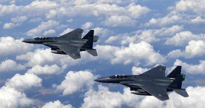 Hàn Quốc điều chiến đấu cơ chặn máy bay quân sự Trung Quốc