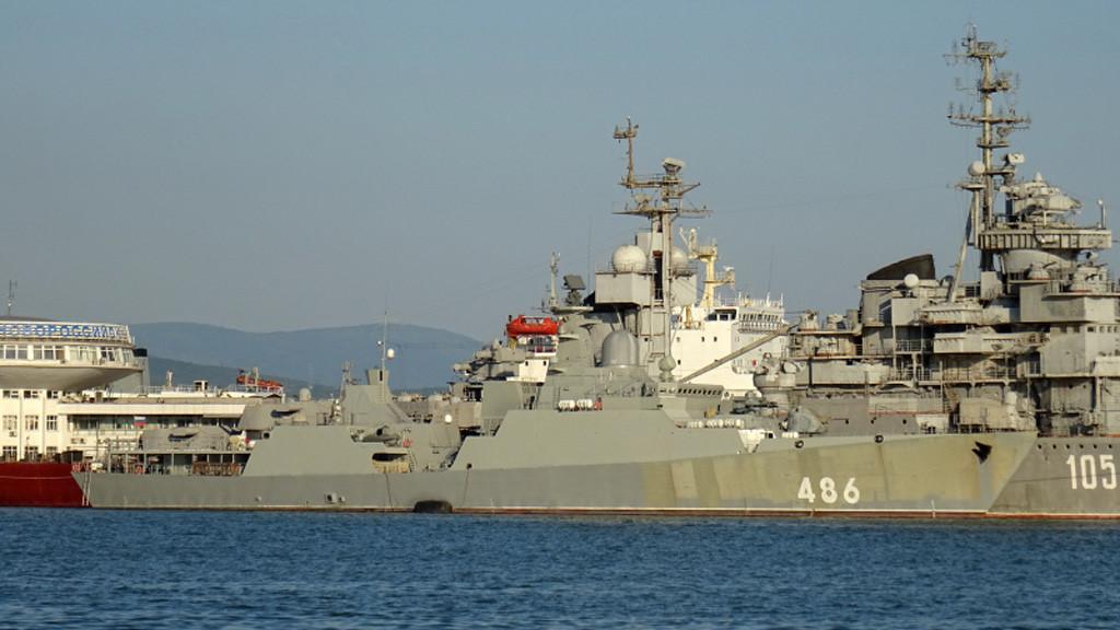 Chiến hạm Gepard Việt Nam tiếp tục thử nghiệm trên Biển Đen
