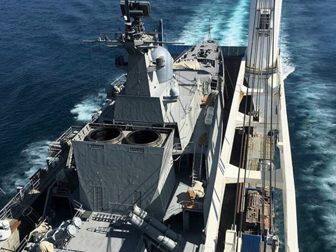Chiến hạm Gepard thứ tư của Việt Nam đã vào Ấn Độ Dương