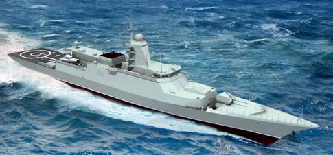 Chiến hạm Gepard thứ tư của Việt Nam đã vào Ấn Độ Dương - ảnh 1