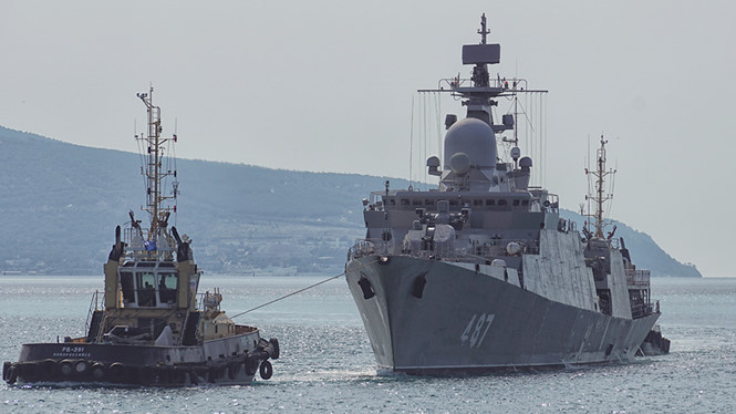 Chiến hạm Gepard Việt Nam sắp về nước trên tàu Rolldock Star