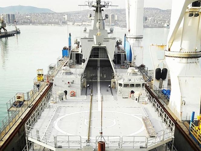Chiến hạm Gepard thứ tư của Việt Nam trên đường về nước