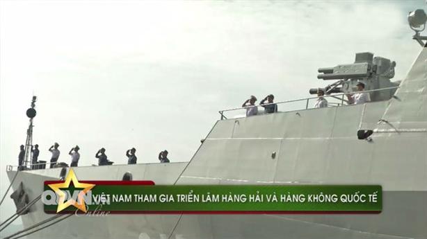 Tàu Gepard Việt Nam lộ vũ khí cực mạnh khi dự LIMA-2017