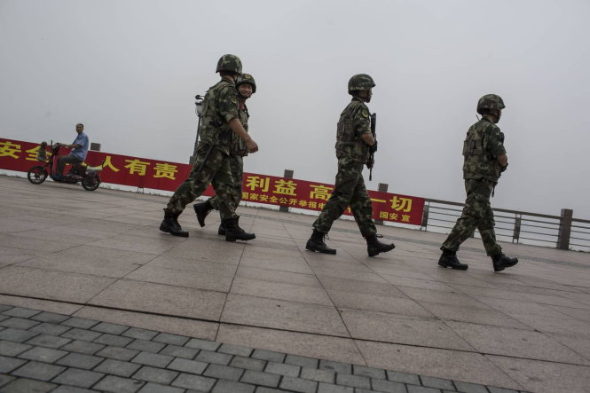 Tình hình căng thẳng trên bán đảo Triều Tiên 26-07-2017
