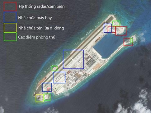 Cận cảnh các cơ sở quân sự Trung Quốc xây phi pháp ở Trường Sa