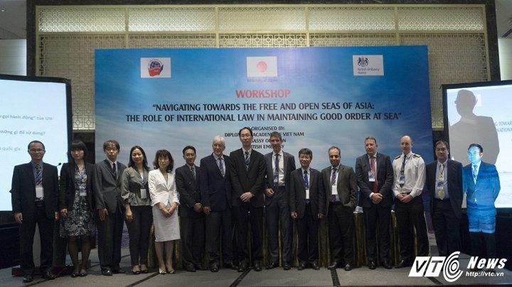 Chuyên gia thế giới chia sẻ kinh nghiệm xử lý an ninh biển