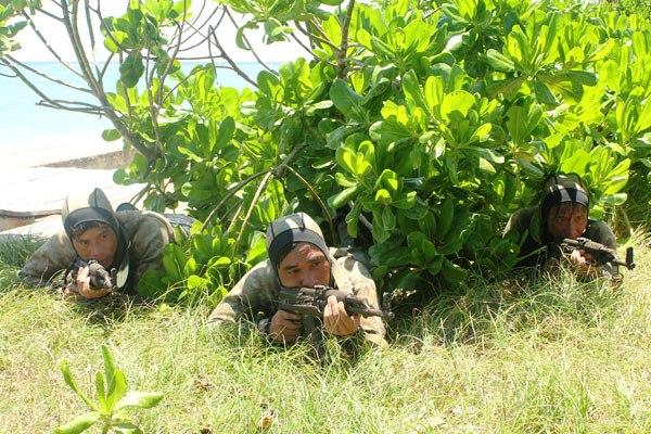 Đặc công hải quân Việt Nam lần đầu lộ diện