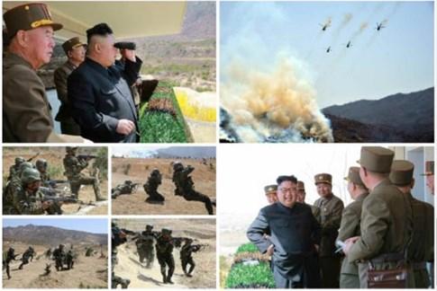 Tình hình căng thẳng trên bán đảo Triều Tiên tối 13-04-2017