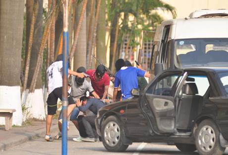 Việt Nam: Cảnh sát đặc nhiệm diễn tập chống khủng bố