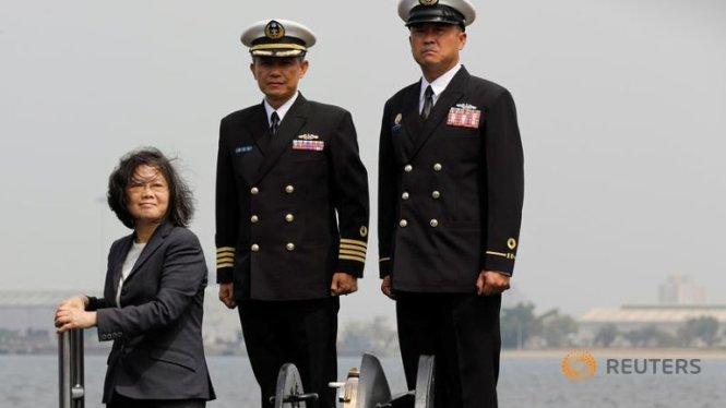 Đài Loan sẽ tự đóng tàu ngầm chống Trung Quốc