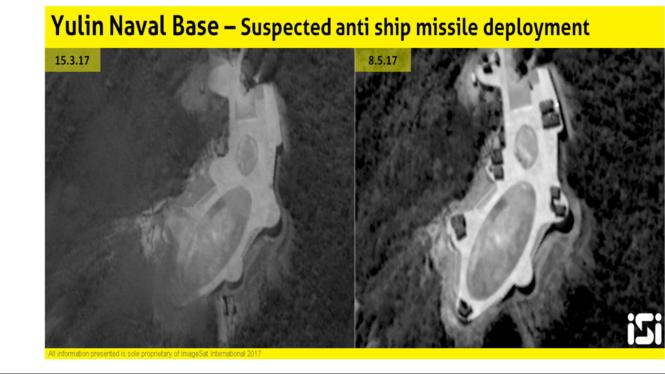 Trung Quốc mang tên lửa đến Hải Nam đối phó tàu chiến Mỹ?